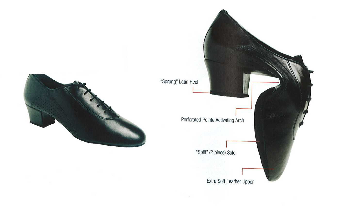 Leather, Split Sole - Model No. 230201SS